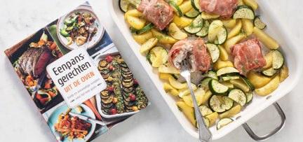 Vis in parmaham uit de oven + review Eenpansgerechten uit de oven