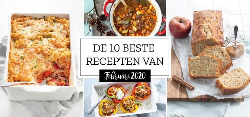De 10 beste recepten van februari