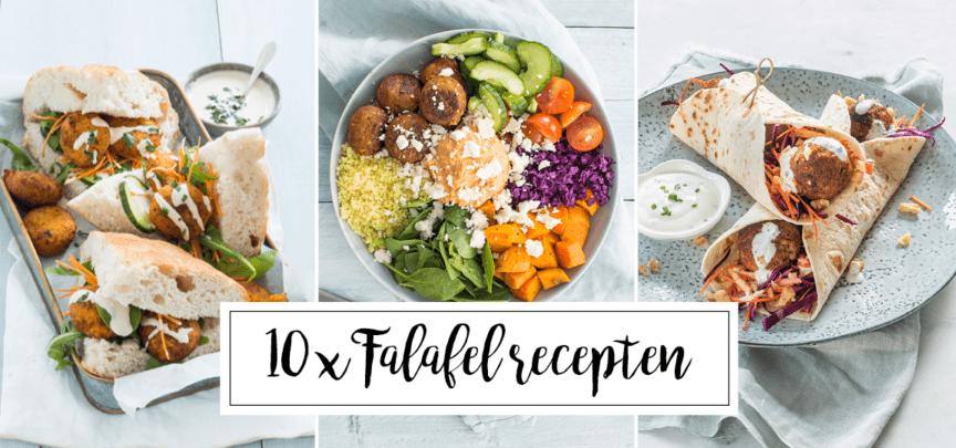 10 x recepten met falafel