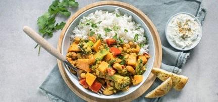Makkelijke groentecurry