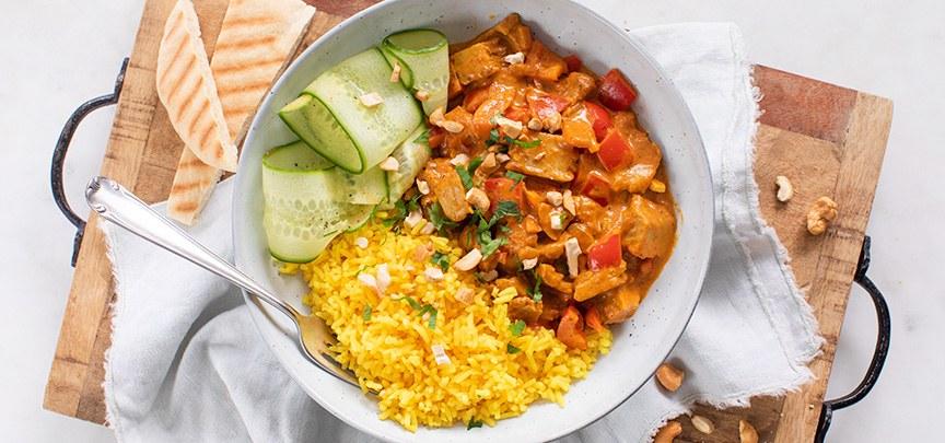 Snelle plantaardige kip tandoori recept + kom gratis proeven!