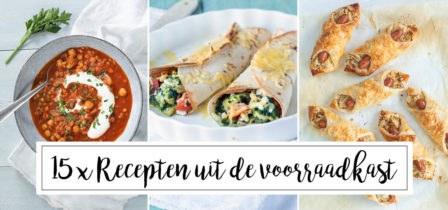 15 x recepten uit de voorraadkast + tips