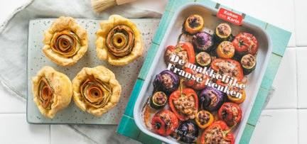 Groentetaartjes + boekreview De makkelijke Franse keuken