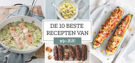 De 10 beste recepten van mei