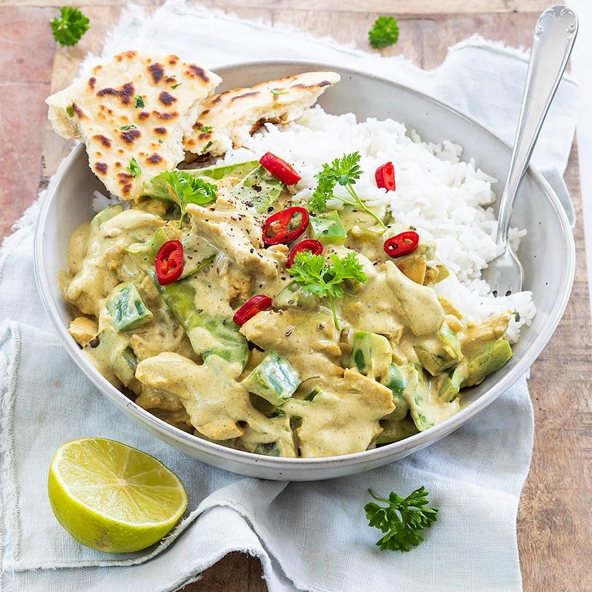 Groene curry