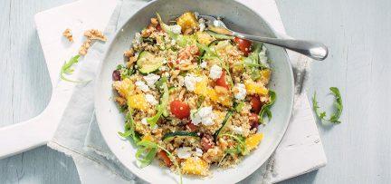 Quinoa salade met cherrytomaatjes