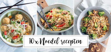 10 x noedel recepten