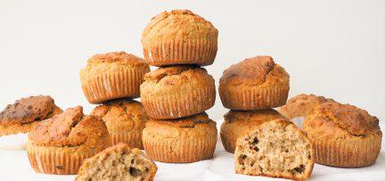 Glutenvrije muffins basisrecept