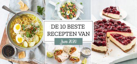 De 10 beste recepten van juni