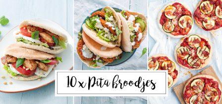 10 x recepten met pitabroodjes