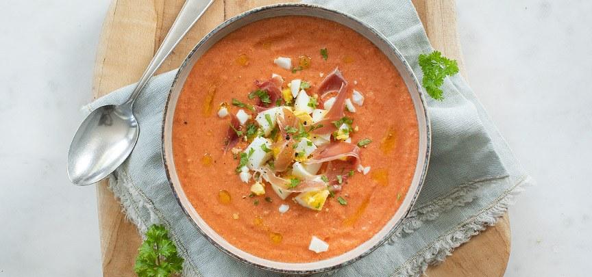 Salmorejo (koude Spaanse soep)