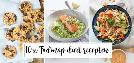 10 x FODMAP dieet recepten