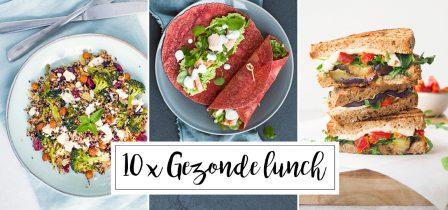 10 x gezonde lunch recepten