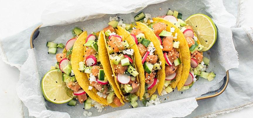 Sushi taco's