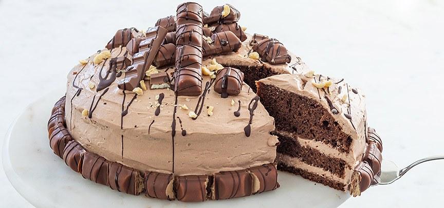 Kinder bueno taart + ik ben jarig!