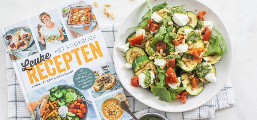 Het LeukeRecepten kookboek is uit + courgette carpaccio