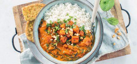 Herfstrecept: tikka masala curry met pompoen