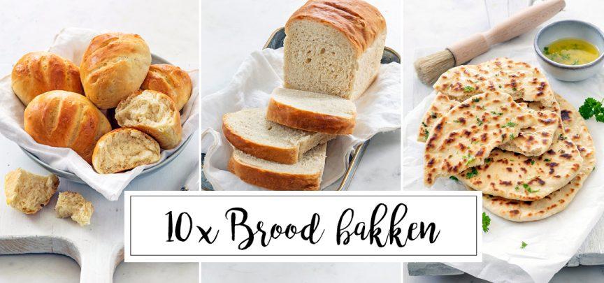 10 x brood recepten om zelf brood te bakken