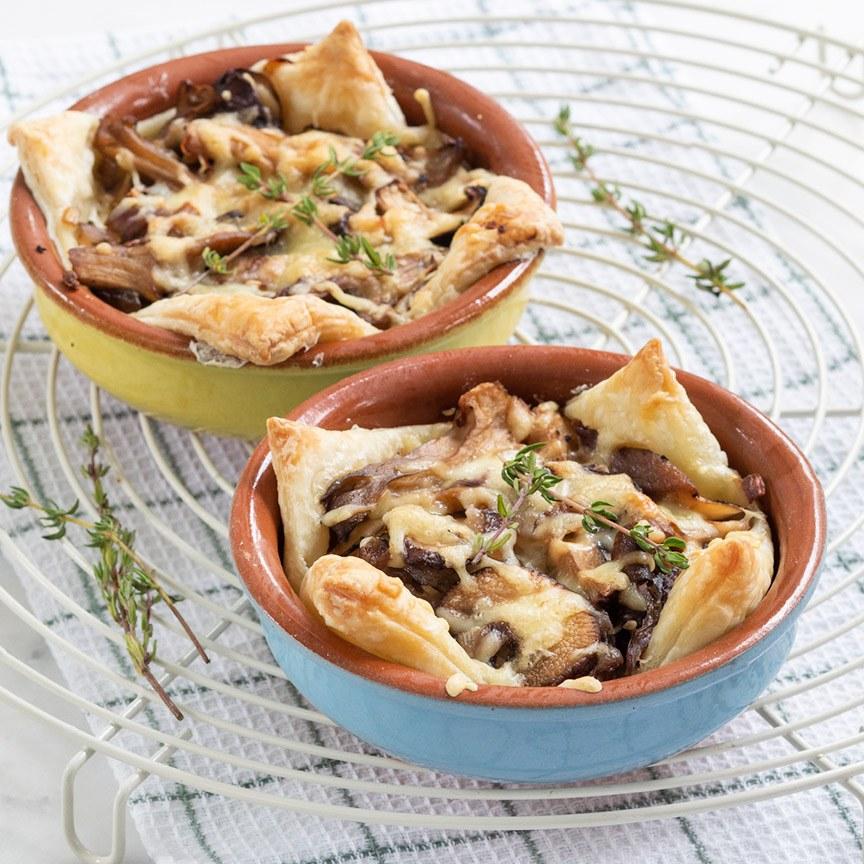 champignon-taartjes