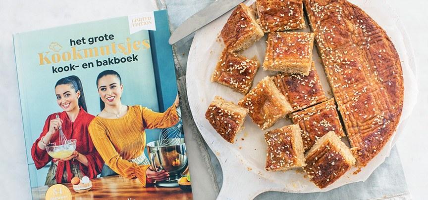 Marokkaanse boterkoek + boekreview Kookmutsjes