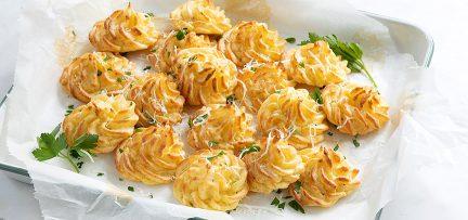 Pommes duchesse aardappeltoefjes