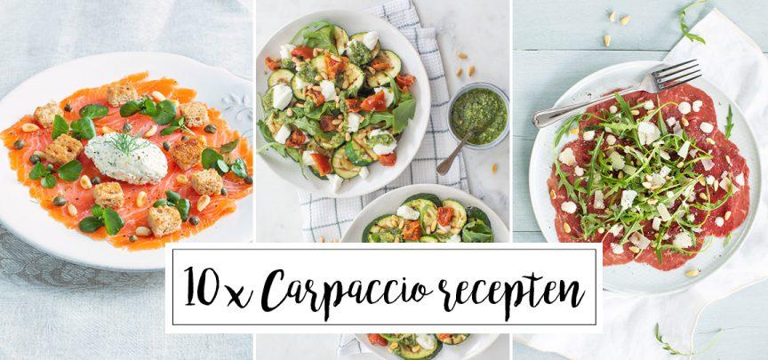 10 x carpaccio recepten