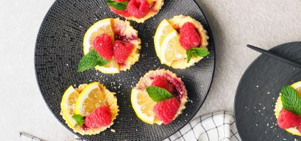 Gezonde mini cheesecake