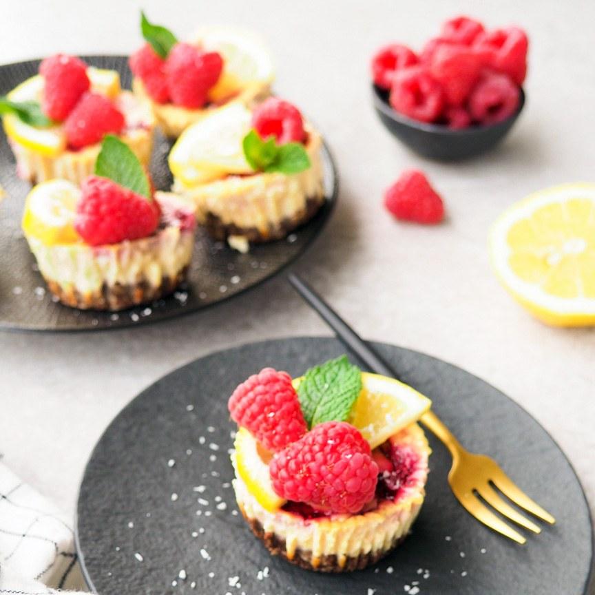 Gezonde mini cheesecake