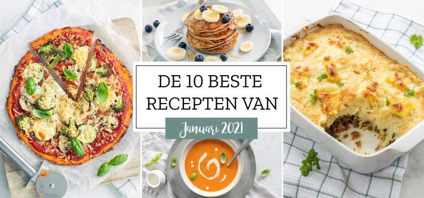 De 10 beste recepten van januari