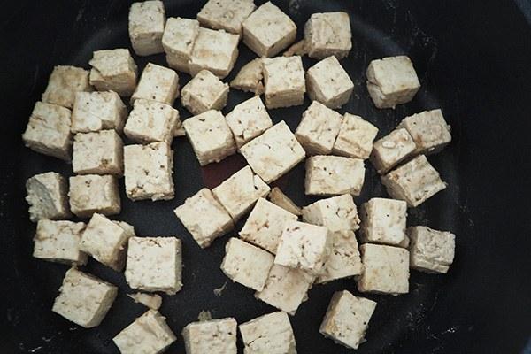 meal preppen tofu