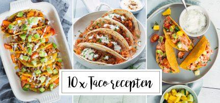 10 x taco recepten