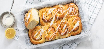 Lemon rolls (citroen broodjes)