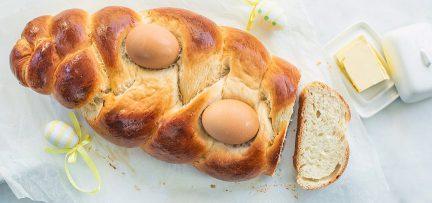 Paasbrood vlecht