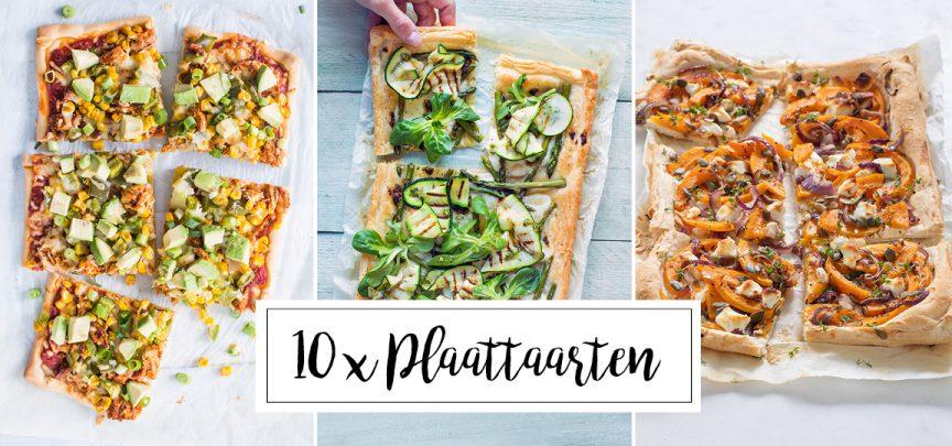 10 x plaattaart recepten