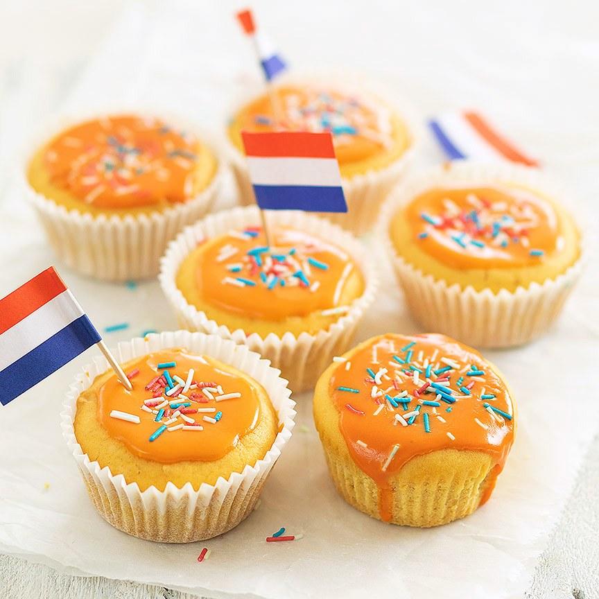 Oranje-muffins