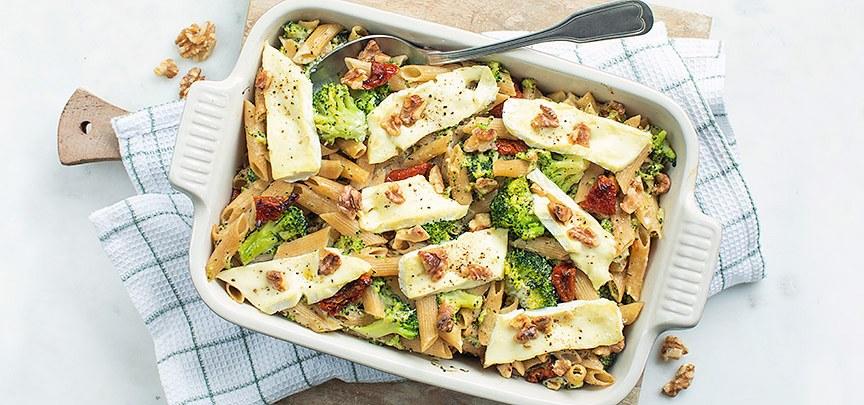 Broccolischotel met brie