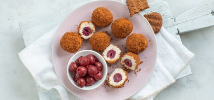 Monchou truffel bonbons met kersen