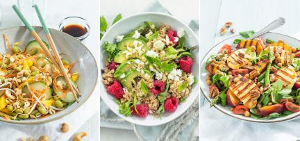 3 x lekkere zomerse lunch salades + tips