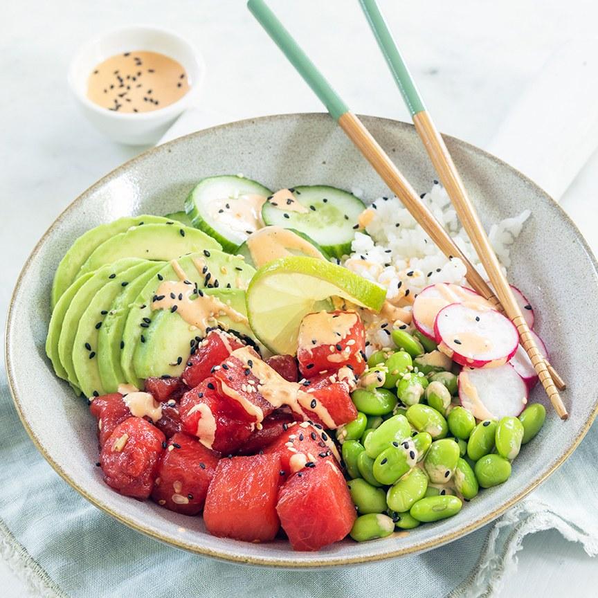 poke-bowl-watermeloen