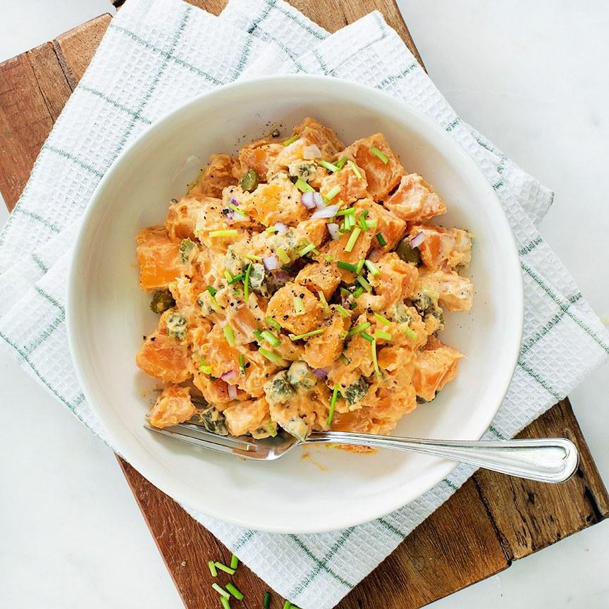 zoete-aardappel-salade-rommig