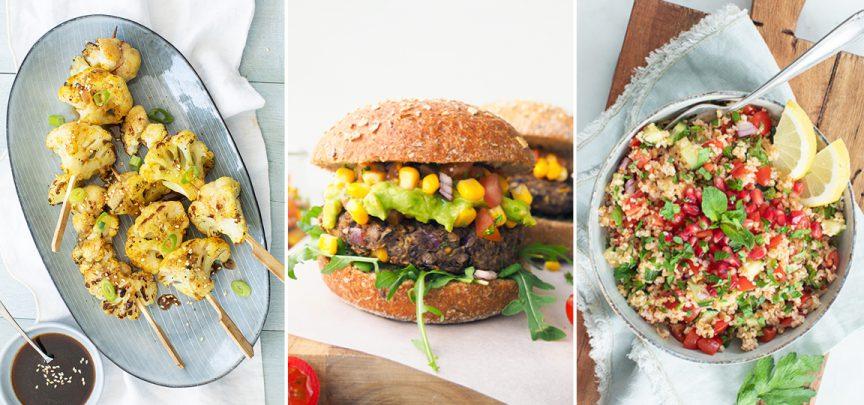 10 x vegan BBQ recepten