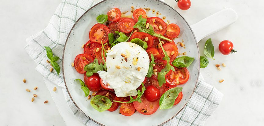 Tomatensalade met burrata