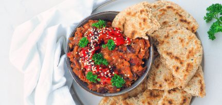 Zaalouk (auberginesalade)