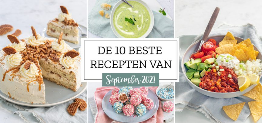 De 10 beste recepten van september