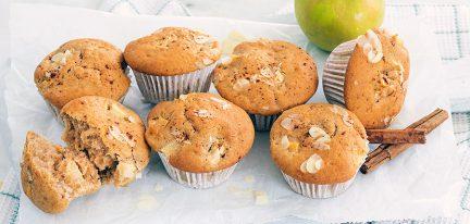 Muffins met appel